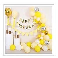 ATFUNSHOP Customized Yellow Balloon Arch