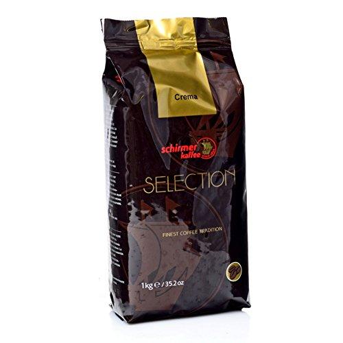 Schirmer Café Crèma, 8 x 1000 g = 8,00 kg