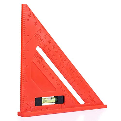 Foru-1 45°-Winkel-Lineal, Multifunktions-Dreieck-Lineal, Quadratisches Winkelmesser