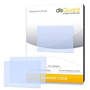 DisGuard Protective Screen Film for Nikon Coolpix S9500 Premium Quality Made in Germany