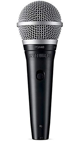 Shure PGA48 Niere Dynamisches Gesangsmikrofon mit XLR-zu-XLR-Kabel
