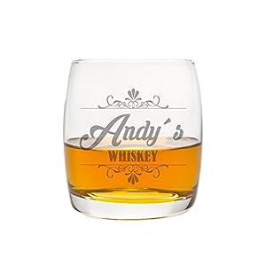 FORYOU24 Edles Whiskeyglas mit Gravur Motiv Whiskey Geschenkidee Whisky-Glas graviert Geburtstagsgeschenk Vatertag