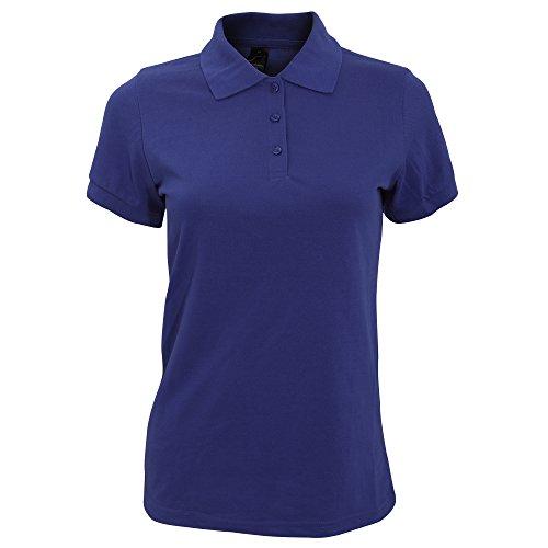 SOLS Prime - Polo à manches courtes - Femme Bleu roi