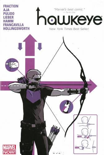 Hawkeye Volume 1 Oversized Hc (marvel Now) por Matt Fraction