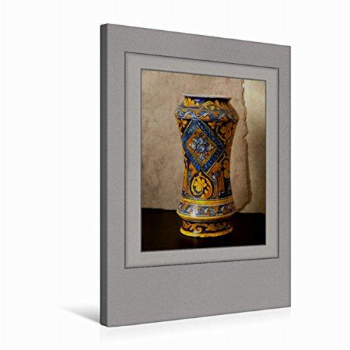 Premium Textil-Leinwand 50 cm x 75 cm hoch Ein Motiv aus Dem Kalender Arznei Fayencen | Wandbild, Bild auf Keilrahmen, Fertigbild auf Echter Leinwand, Leinwanddruck