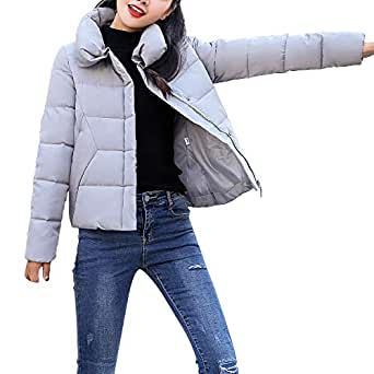Wintermantel Daunenjacke Damen Übergangs Jacke Premium Dünne Outwear ... 8536ffdb91