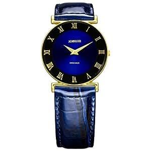 Jowissa Damen-Armbanduhr XS Roma Analog Leder J2.041.M