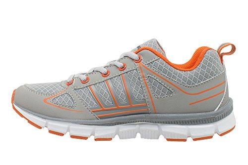 Kefas - Vento 3545 - Chaussure en mesh homme / femme Orange