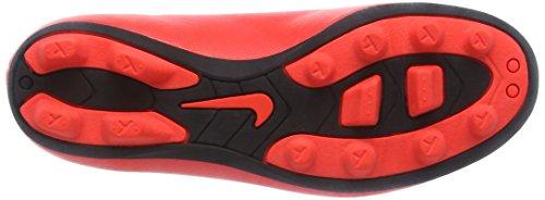 Nike Jr. Mercurial Vortex Ii Fg, Chaussures de Football Compétition mixte enfant Rouge - Rot (Bright Crimson/Prsn Violet-Blk)