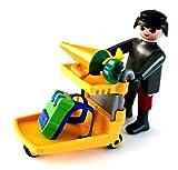 playmobil ® - Frau mit Einkaufswagen - Schultüte und Tornister