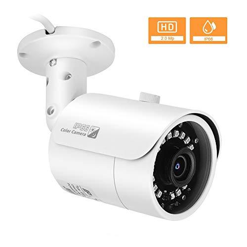 1080P Wireless IP Kamera, Home Security WiFi CCTV Kugelkamera mit wetterfester Nachtsicht IP66, Bewegungserkennung, E-Mail Benachrichtigung, Aufnahme automatisch für Zuhause/Büro