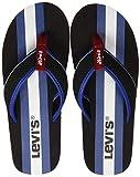 Levis Footwear and Accessories Dodge Sportswear, Chanclas para Hombre, Negro (Regular Black 59), L