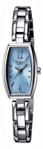 Casio Casio Collection Damen SHN-4008D-2AEF - Reloj de mujer de cuarzo con correa de acero inoxidable plateada