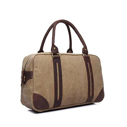 LF&F Im EuropäIschen Stil Retro Unisex Handtasche Kurierbeutel Schulterbeutel Leichte Tragbare LäSsige Outdoor-Sport Rucksack GepäCktaschen B