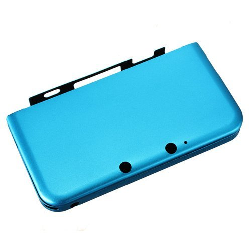 Dcolor Aluminium Tasche Case Cover Schutzhuelle fuer Nintendo 3DS XL LL Himmelblau