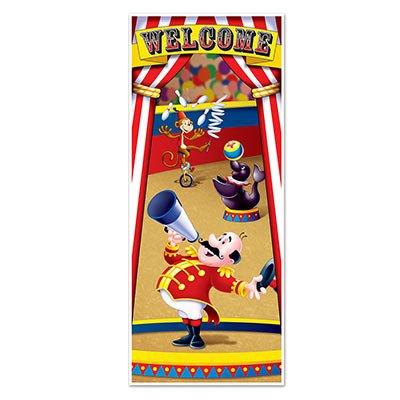Fun Circus Zelt Tür Cover Banner Dekoration-76,2x 152,4cm Karneval Thema Party Dekor