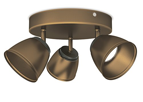 Philips myLiving LED Spot County 3-flammig, bronze