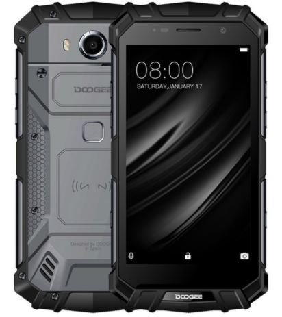 Doogee s60 lite - 5,2 pollici fhd impermeabile / antiurto 4g smartphone, batteria 5580mah carica veloce (supporto wireless supportato), 1,5 ghz octa core 4 gb + 32 gb, 8 mp + 16 mp - nero