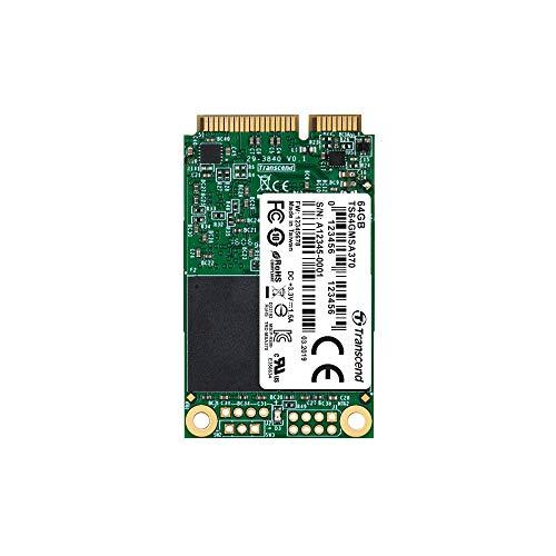 Foto Transcend TS64GMSA370 SSD mSATA, SATA III 6 Gb/s, 64 GB