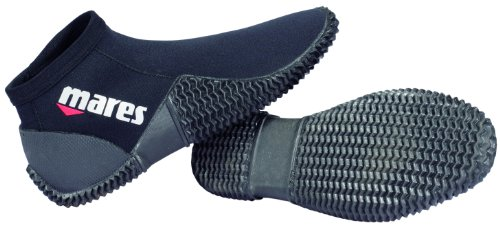 Mares Dive Boot Equator 2Novo acqua scarpe sportive, nero, 7 (39/40)