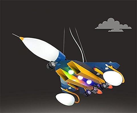 FANDBO Kreative Flugzeug Schlafzimmer junge kind Raum Pendelleuchte