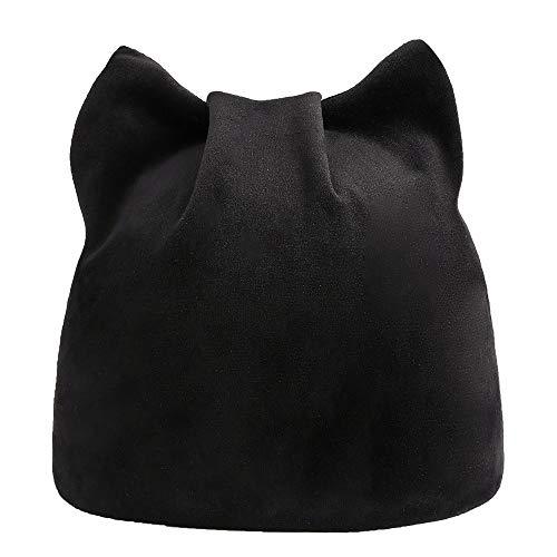 VRTUR Damen Winter Warm Katzenohren Mütze Hut Russisch -