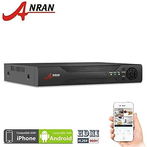 ANRAN 16 Channel H.264 960H Full D1 16CH DVR CCTV
