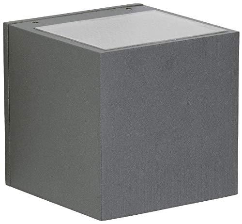 Albert 622372 außenwand Spot, aluminium, Integrated, noir
