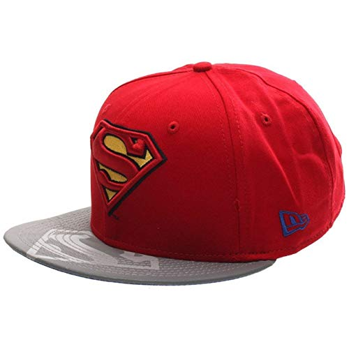 New Era 950 Reflecto Superman Snapback Cap (Small-Medium 54.9cm - 59.6cm)