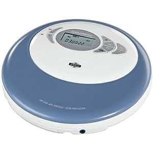 Grundig CDP 5100 SPCD Tragbares CD/MP3-Player weiß/blau