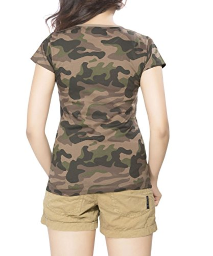 Clifton Womens Cotton T-Shirt (Aaa00015458 _Multi-Coloured _Medium)