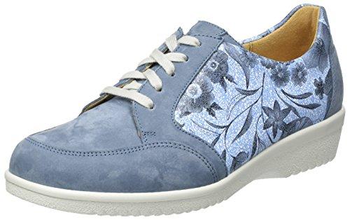 Ganter Damen Sensitiv Inge-I Derby Blau (Jeans)