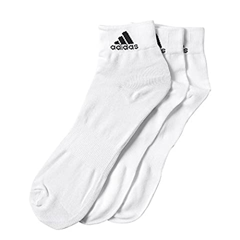 adidas Performace Ankle Thin 3PP Socquettes White/White/Black FR: Taille Unique