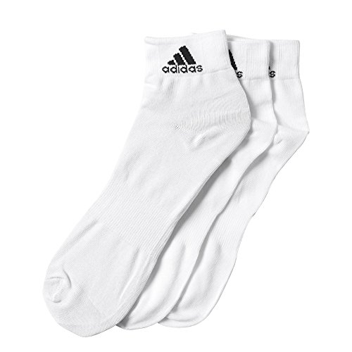 adidas Socken PER ANKLE T 3PP, White, 39-42, AA2320