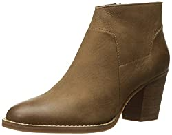 Steve Madden Womens Gilmore Ankle Bootie, Tan Nubuck, 8 M US