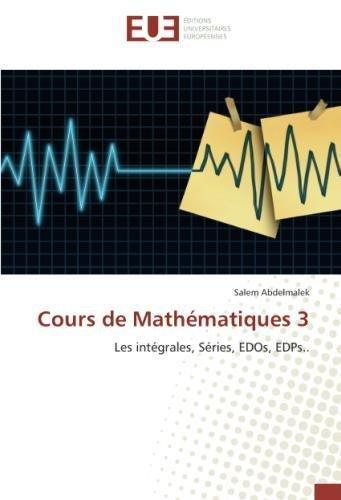 Cours de Mathématiques 3 par Salem Abdelmalek