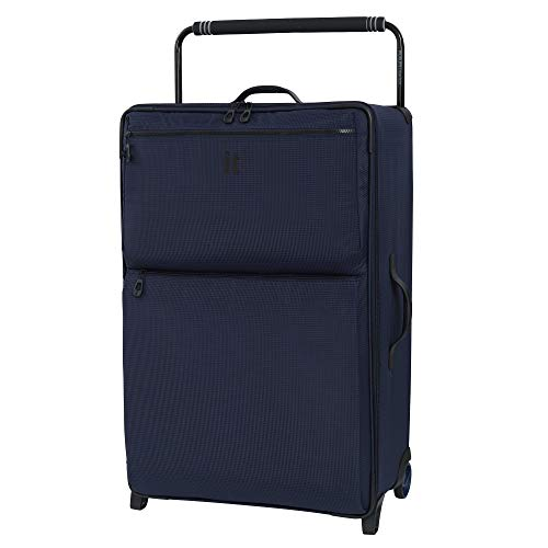 it luggage World's Lightest Urbane 2 Wheel Super Lightweight Suitcase Large Koffer, 83 cm, 102 liters, Blau (Navy/Blue Two Tone)