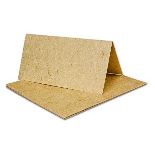 200 Stück DIN LANG Faltkarten, Elefantenhaut DUNKEL, 210 x 210 mm, 190 g/qm, beschichtet!