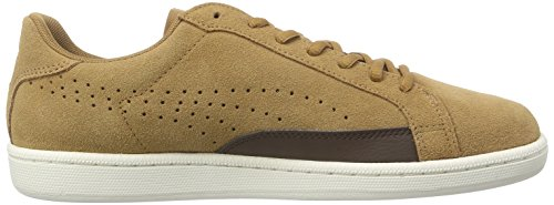 Puma MATCH 74 SUEDE Herren Sneakers Braun (chipmunk-bracken brown-marshmallow-team gold 02)