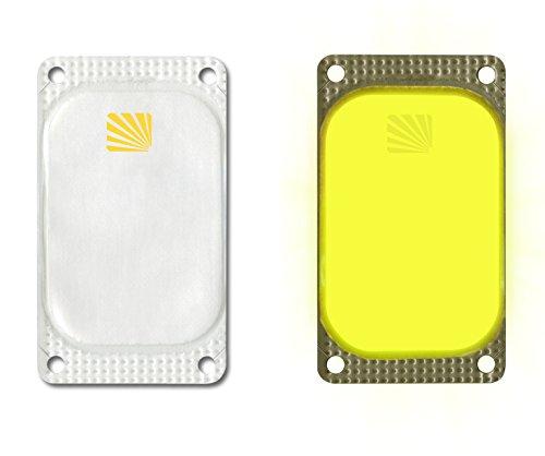 VisiPad Cyalume selbstklebender Leuchtmarkierer Gelb (250-er Pack) - kann zur Erhöhung der Sichtbarkeit von Oberflächen verwendet werden - optimiert Rettungseinsätze - Leuchtdauer 10 Stunden