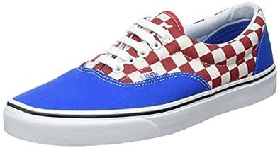 Vans Men UA Era Low-Top Sneakers, Blue (2-Tone Check Imperial Blue/True White), 6 UK 39 EU