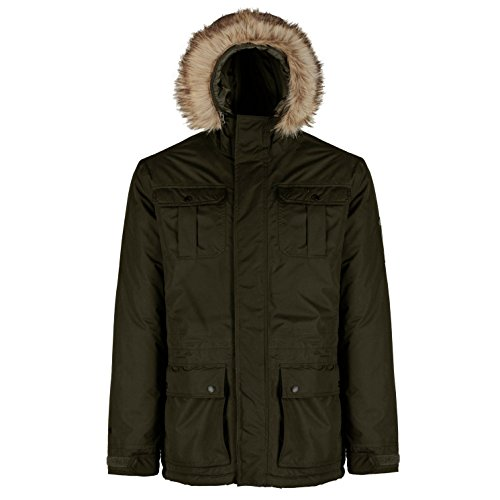 Michaelax-Fashion-Trade - Blouson - Parka - Uni - Manches Longues - Homme Bayleaf (905)
