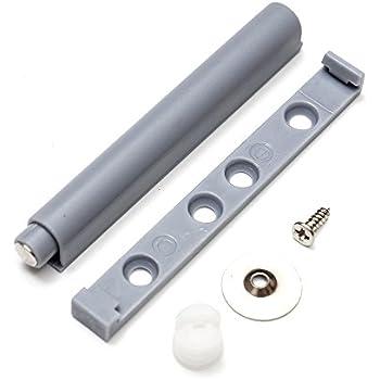 5x push open system d mpfer puffer mit magnetischer zuhaltung f r t r schrankt r 42 69mm amazon. Black Bedroom Furniture Sets. Home Design Ideas