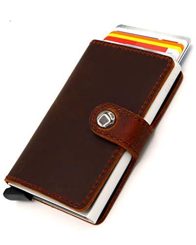 WunderschöNen Leather Wallet Cardholder Best Of British Hide Smooth Soft Elegant Business Man Geldbörsen & Etuis Herren-accessoires