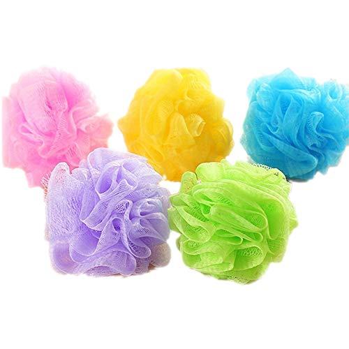 TRIXES Confezione da 5 spugne per lo scrub in colori assortiti.