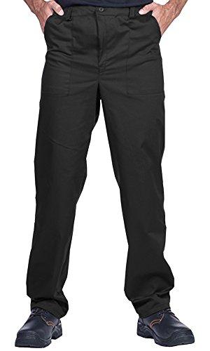 ProWear Herren Arbeitshose, Bundhose, Größen S-XXXL,Arbeitskleidung (S, schwarz) - 2