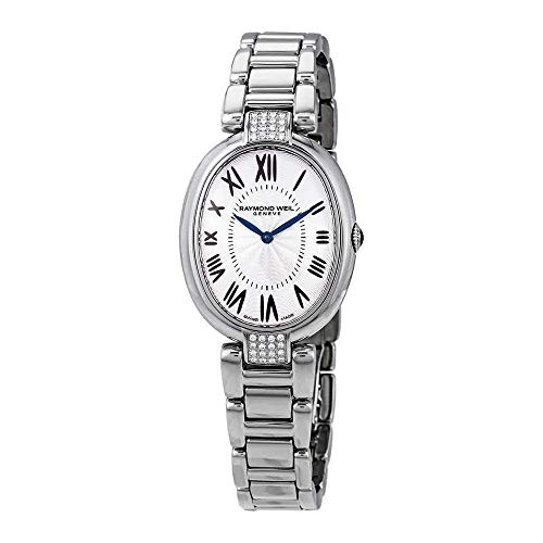 Raymond Weil Shine Ladies orologio al quarzo, 32 brillanti, 29 mm, 1700-sts-00659