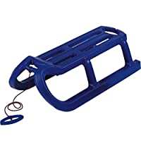 AlpenGaudi Snow Rodel Blue Sledge Toboggan- Pack Of 2