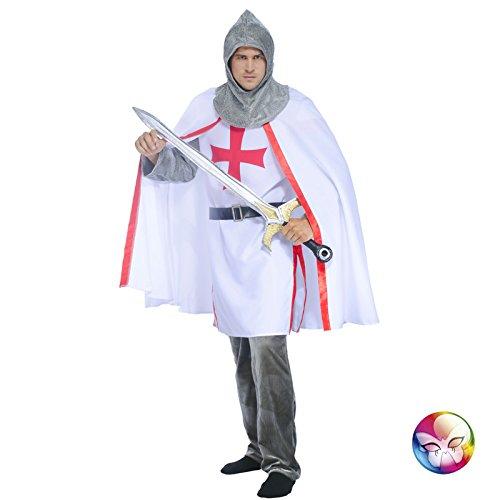 Aptafêtes–cu090438/54–56cathare Kreuz Kostüm Gr. 54/56 (Kostüm 18eme Siecle)