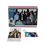BTS Bangtan Boys Desk Calendar with Photo card with Key ring and Instagram card